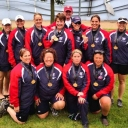 Got this pic of the Philadelphia Women's Dragonboat Team who won the GOLD medal in the 200m sprint on Friday, 2 August. Now time to defend that title here in Fairfax!
