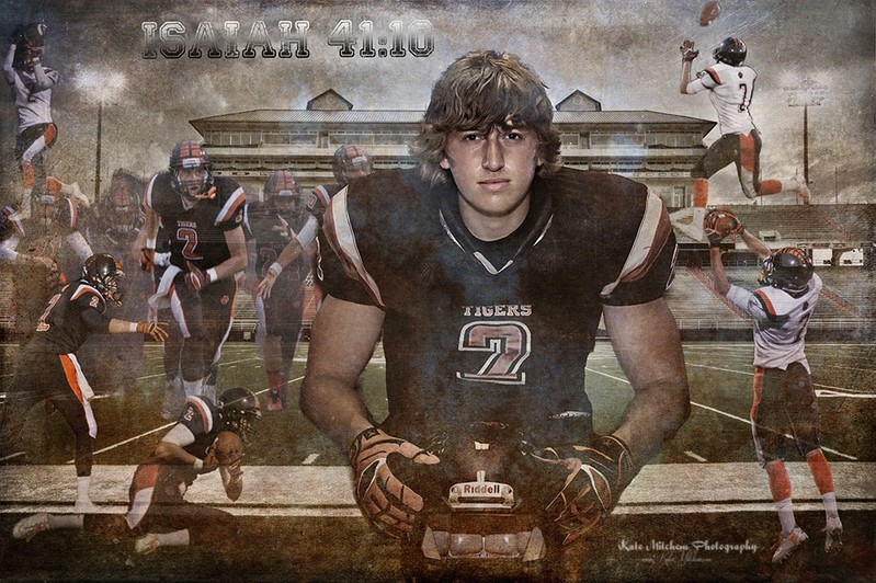 Completely unrelated to anything but since it's sports related and we are all photographers, I thought I'd share a new composite I just did for my son's high school Senior photos.  I'm printing it on Metal for him as gift. . .