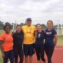 Very thankful for my coach Chris Witscher and all the the student athletes at California State University Fullerton! The throwing team has been helping me get get ready for discus and javelin! I'll be representing Pasadena Fire Dept. and Firefighters For Christ. It's gonna be great!