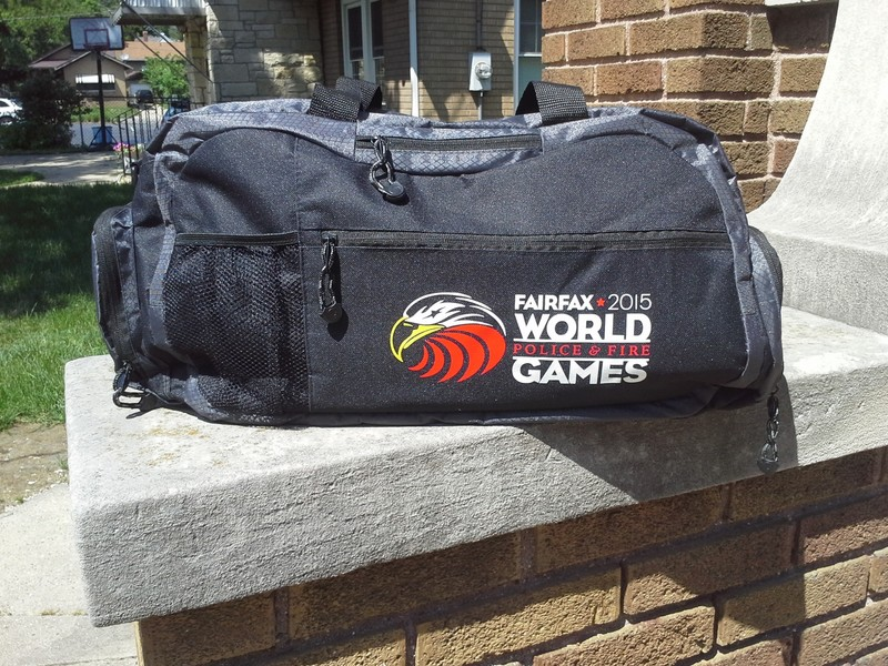 My new Sport Duffel Bag showed up today.