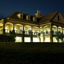 The Golf Club at Lansdowne at night