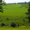 #3 Par 4 352 yds - After playing two holes to warm-up, the long uphill par 4 third challenges the length of any golfer this early in their round. The course's first demand carry from elevated tees offers players their first attempt at hitting across Giles