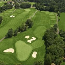 FAIRFAX 2015 VENUE - Twin Lakes Golf Club / Oaks Course - 8th Hole - Par 3 / 204 yards