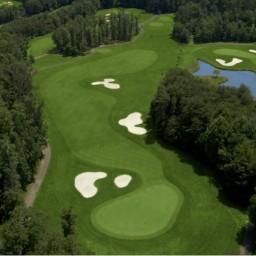 FAIRFAX 2015 VENUE - Twin Lakes Golf Club / Oaks Course - 4th Hole - Par 5 / 396 yards