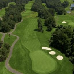 FAIRFAX 2015 VENUE - Twin Lakes Golf Club / Oaks Course - 17th Hole - Par 4 / 327 yards