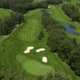 FAIRFAX 2015 VENUE - Twin Lakes Golf Club / Oaks Course - 3rd Hole - Par 3 / 347 yards
