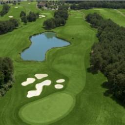 FAIRFAX 2015 VENUE - Twin Lakes Golf Club / Oaks Course - 10th Hole - Par 4 / 437 yards