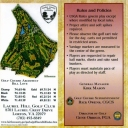 GOLF - Score Card - Laurel Hill