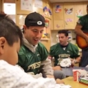 KUDOS! to the New York City Police Department Football Team who visited the Maimonides Infants and Children's Hospital, entertaining children and their families with songs, stories and games. VIDEO: http://youtu.be/Felx4UwoMZ0