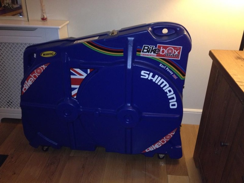 That's my bike transport sorted for the games!!!