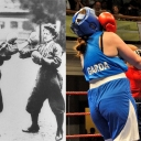 WOMEN'S BOXING - 1904 Olympic Games in St. Louis vs 2013 World Police & Fire Games in Belfast, NI