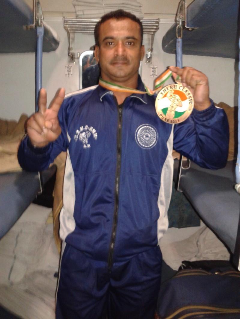 In Sheru classic 2013 in PUNE In INDIA ,,,i got Medal there ...