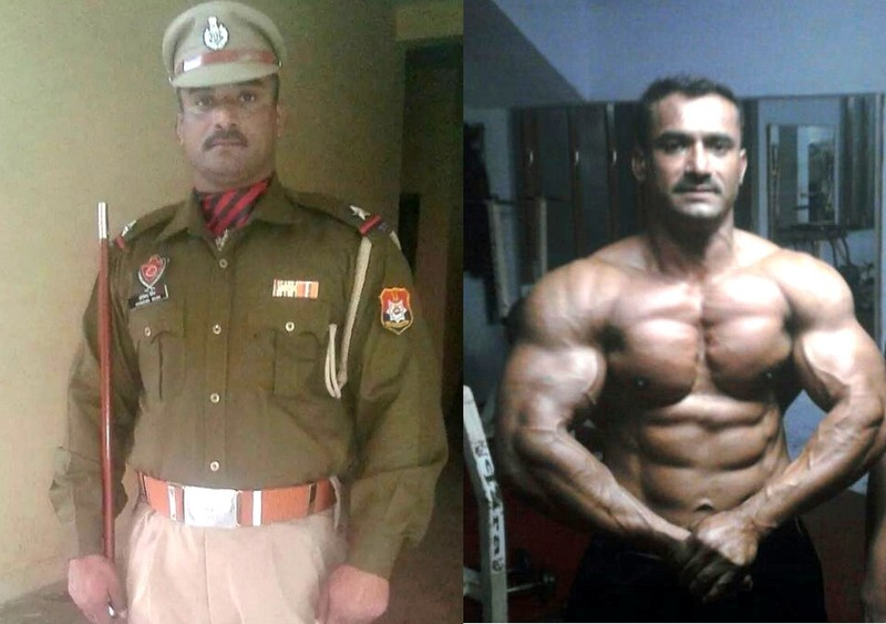 Narinder, an officer with the Punjab Police in India shows us his progress in training for Bodybuilding to be held at George Mason University on June 27th. What do you think?? ‪#bodybuilding
