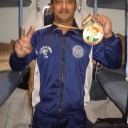 In Sheru classic 2013 in PUNE In INDIA ,,,i got Medal there ...