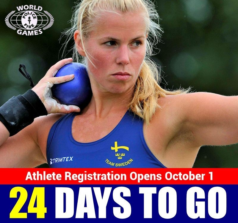 HELP US SPREAD THE WORD! Please SHARE and help us spread the word! Athlete registration opens in just 24 days on 1 October 2014 at 12PM ET / 4PM GMT! Some sports will fill on the first day. Join the Games website today: http://fairfax2015.com/  The Facebook post to share is here: http://on.fb.me/1tDu8lr