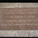 Washington Monument Stones - Wyoming Territory