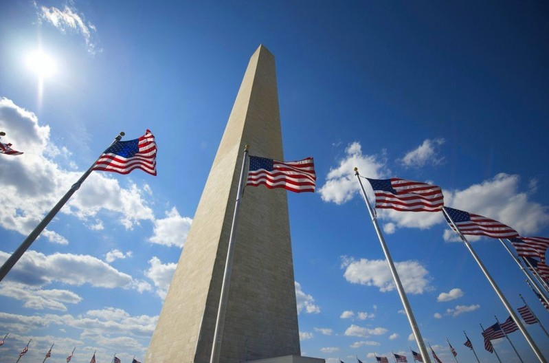 FREE TICKET ALERT - One of the most iconic American symbols is the Washington Monument - the world's tallest free-standing stone structure, towering more than 555 feet (169 meters). We recommend pre-ordering tickets online via the US Park Service - going FAST to summer tourists. Very small $1.50 fee on the free ticket. Fee free tickets available same day on a first come first serve basis. http://1.usa.gov/1JcbEMP