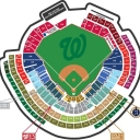 For those who participate in the World Games in Fairfax , I have 10 tickets for sale for the match between NATIONALS Washington and San Francisco Giants . On Friday, July 3 at 18h .<br />$ 108 c. Section 129 NN, between home and 1st . The stadium is 30 minutes from Fairfax