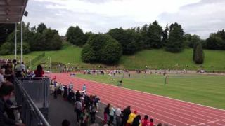 Brent Gray 200m Final Video Belfast 6 Aug 2013