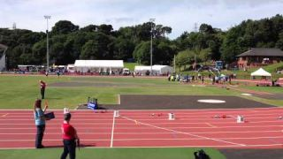 Brent Gray 200m SF Video Belfast 5 Aug 2013