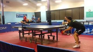 2015 World Police and Fire Games Mens Singles Final #1
