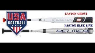 2018 USA/ASA Easton Blue Line & USA/ASA Easton Ghost